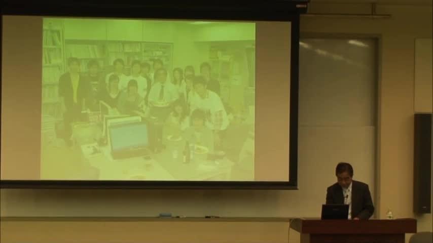 2013年度最終講義 建築計画研究の40年