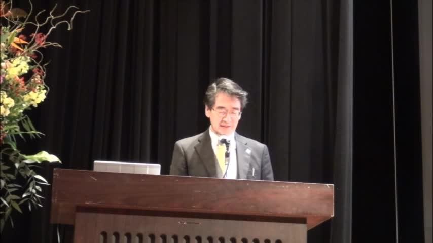 国際センター 特別講演会  金にも活性があった!ナノ粒子の世界