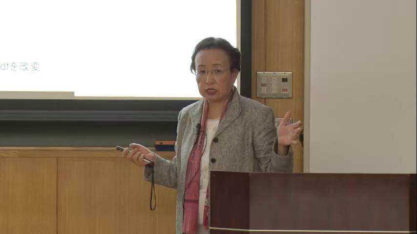2020年度東京都立大学プレミアム・カレッジ講演会 人生100年を支える 食生活について考える